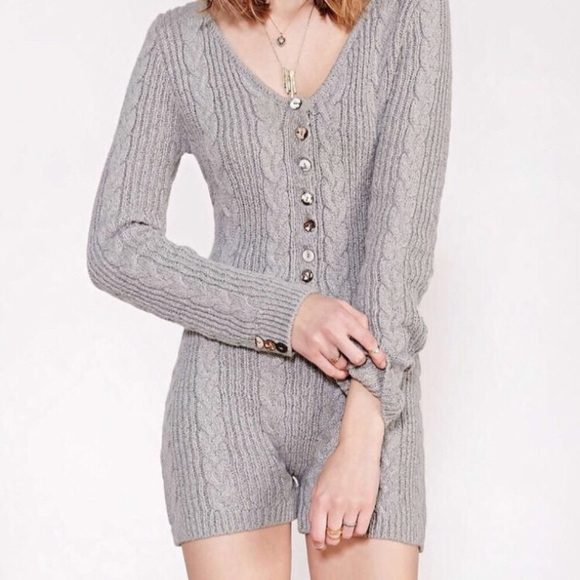 955f01e7f35e For Love And Lemons Pants - Knitz FL L x Urban Outfitters Sweater Romper